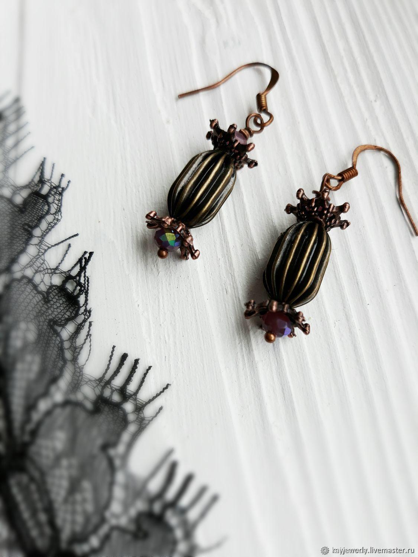 Earrings ' Sweet candy', Earrings, Moscow,  Фото №1