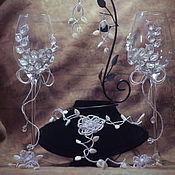 Украшения ручной работы. Ярмарка Мастеров - ручная работа Свадебные украшения в едином стиле. Handmade.