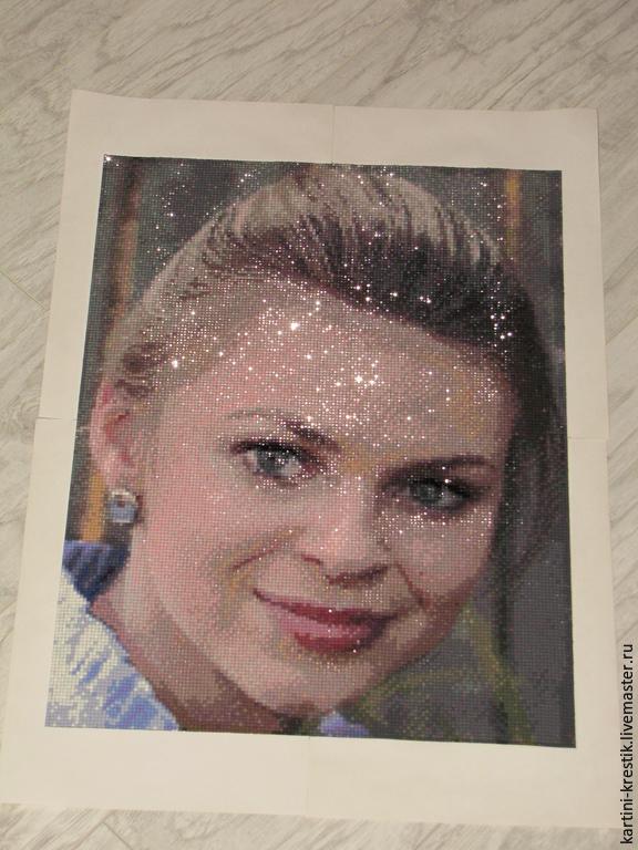 Алмазная вышивка портрет по фотографии