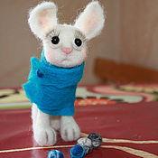 Куклы и игрушки ручной работы. Ярмарка Мастеров - ручная работа Печальный кот.. Handmade.