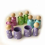 """Куклы и игрушки handmade. Livemaster - original item Сортер """"Человечки"""". Handmade."""