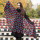 Nymphadora shawl crocheted. Shawls. Lily Kryuchkova (kruchokk). Online shopping on My Livemaster.  Фото №2