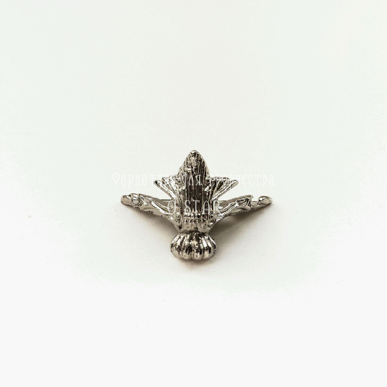 Ножка для шкатулки серебро, Элементы, Москва, Фото №1