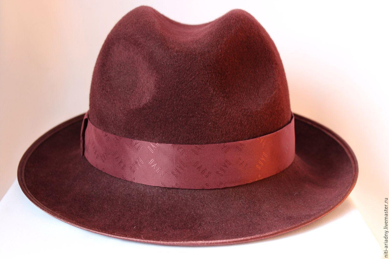 Шляпа с полями как сделать