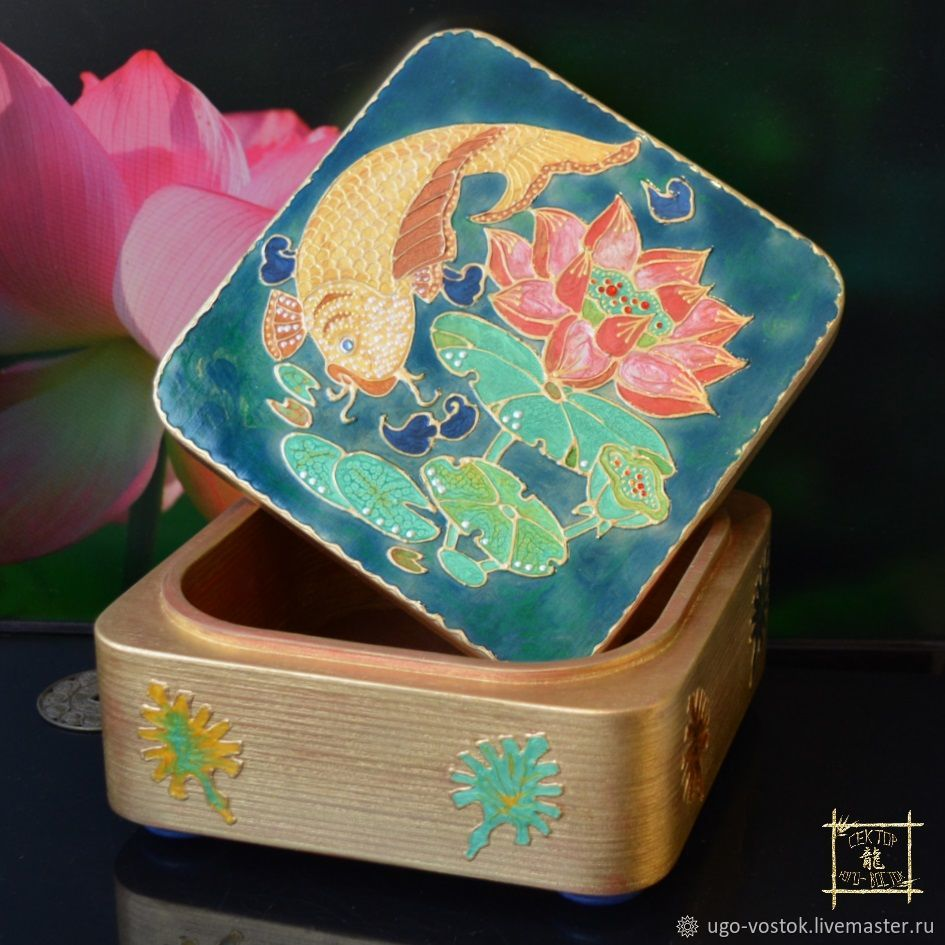 Casket for attracting Wealth ' Pisces Zodiac sign', Horoscope, Moscow,  Фото №1
