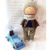 Куклы и игрушки ручной работы. Ярмарка Мастеров - ручная работа Интерьерная текстильная кукла мальчик. Handmade.