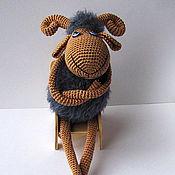 Куклы и игрушки ручной работы. Ярмарка Мастеров - ручная работа Барашек. Handmade.