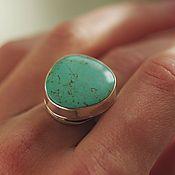Украшения handmade. Livemaster - original item A turquoise ring