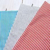 Материалы для творчества ручной работы. Ярмарка Мастеров - ручная работа Трикотаж полоска. Handmade.