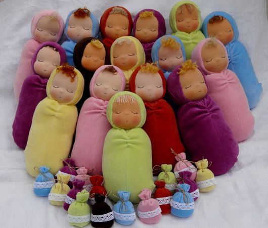 Вальдорфская игрушка ручной работы. Ярмарка Мастеров - ручная работа. Купить Сплюшевые детки. Handmade. Сплюша, цветы лаванды