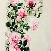 Картины и панно ручной работы. Ярмарка Мастеров - ручная работа вьющиеся розы. Handmade.