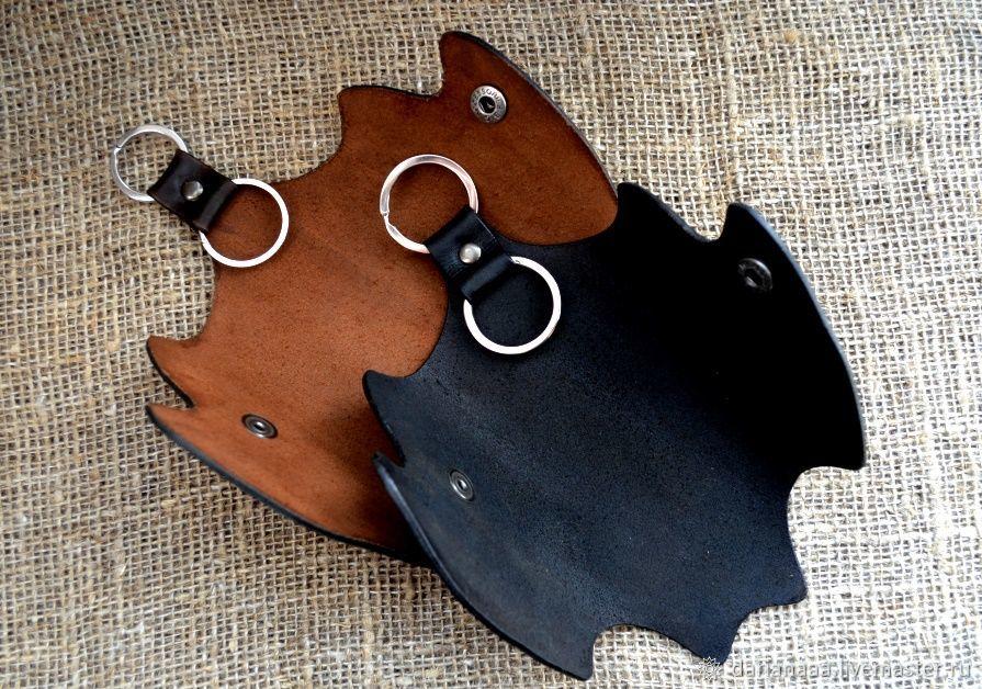 Leather housekeeper ' Bat', Housekeeper, Sizran,  Фото №1