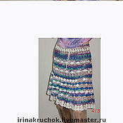 """Одежда ручной работы. Ярмарка Мастеров - ручная работа юбка """"Ажурный бамбук"""". Handmade."""