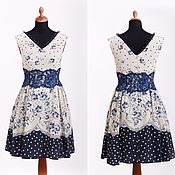 Одежда handmade. Livemaster - original item Dress from crepe silk with lace. Handmade.