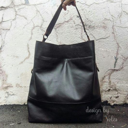 Женские сумки ручной работы. Ярмарка Мастеров - ручная работа. Купить Женская сумка из натуральной кожи. Handmade.