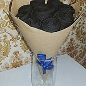 Букеты ручной работы. Ярмарка Мастеров - ручная работа Мужской подарок - букет из носков. Handmade.