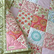 Работы для детей, handmade. Livemaster - original item Baby quilt `Kaleidoscope`. Handmade.