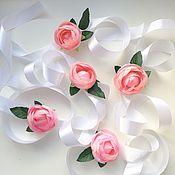 Украшения ручной работы. Ярмарка Мастеров - ручная работа Браслет для подружек невесты с пионом. Handmade.