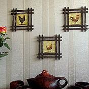"""Для дома и интерьера ручной работы. Ярмарка Мастеров - ручная работа Трио """"Уютный дом"""". Handmade."""