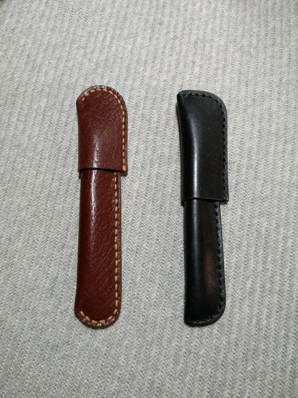 Пенал (футляр) кожаный для ручки, Пеналы, Москва, Фото №1