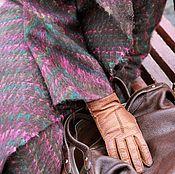 """Одежда ручной работы. Ярмарка Мастеров - ручная работа Валяное пальто """"Кашемир и волшебство"""". Handmade."""