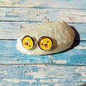 """Украшения ручной работы. Ярмарка Мастеров - ручная работа Серьги-гвоздики """"Пикачу"""". Handmade."""