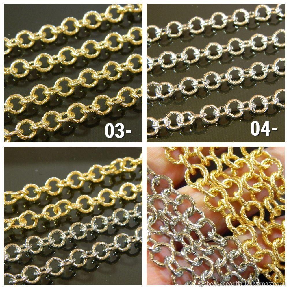 Rolo Chain 8 mm gold (Yu.Korea). metre, Chains, Saratov,  Фото №1