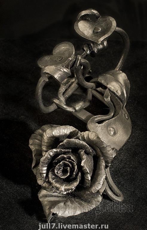 Художественная ковка. Арно ковка. Кузнец Андрей Козлов. Роза кованая. Эксклюзив.