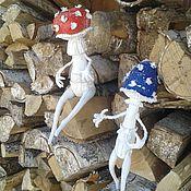 Сувениры и подарки ручной работы. Ярмарка Мастеров - ручная работа Грибы текстильные интерьерные. Handmade.