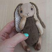 Куклы и игрушки ручной работы. Ярмарка Мастеров - ручная работа Деревянный зайчик. Handmade.