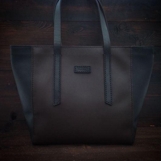 Женские сумки ручной работы. Ярмарка Мастеров - ручная работа. Купить Большая женская сумка из натуральной кожи. Handmade.