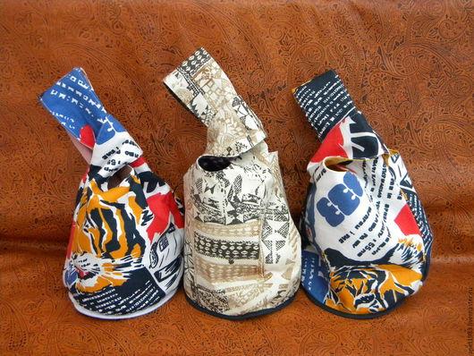 Женские сумки ручной работы. Ярмарка Мастеров - ручная работа. Купить Сумка-узелок. Handmade. Комбинированный, узелок