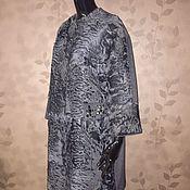 Одежда ручной работы. Ярмарка Мастеров - ручная работа Шубка пальто из каракуля и кашемира в стиле Шанель. Handmade.