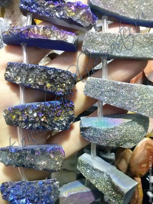 Для украшений ручной работы. Ярмарка Мастеров - ручная работа. Купить Пирит кусочки натурального природного пирита для подвесок. Handmade.
