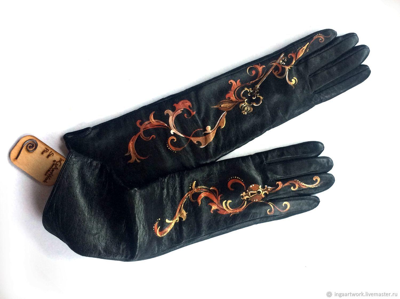 Специально для Патриции с привкусом средневековья, Варежки митенки перчатки, Тракай, Фото №1