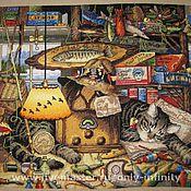 Картины и панно ручной работы. Ярмарка Мастеров - ручная работа Макс-рыболов. Handmade.
