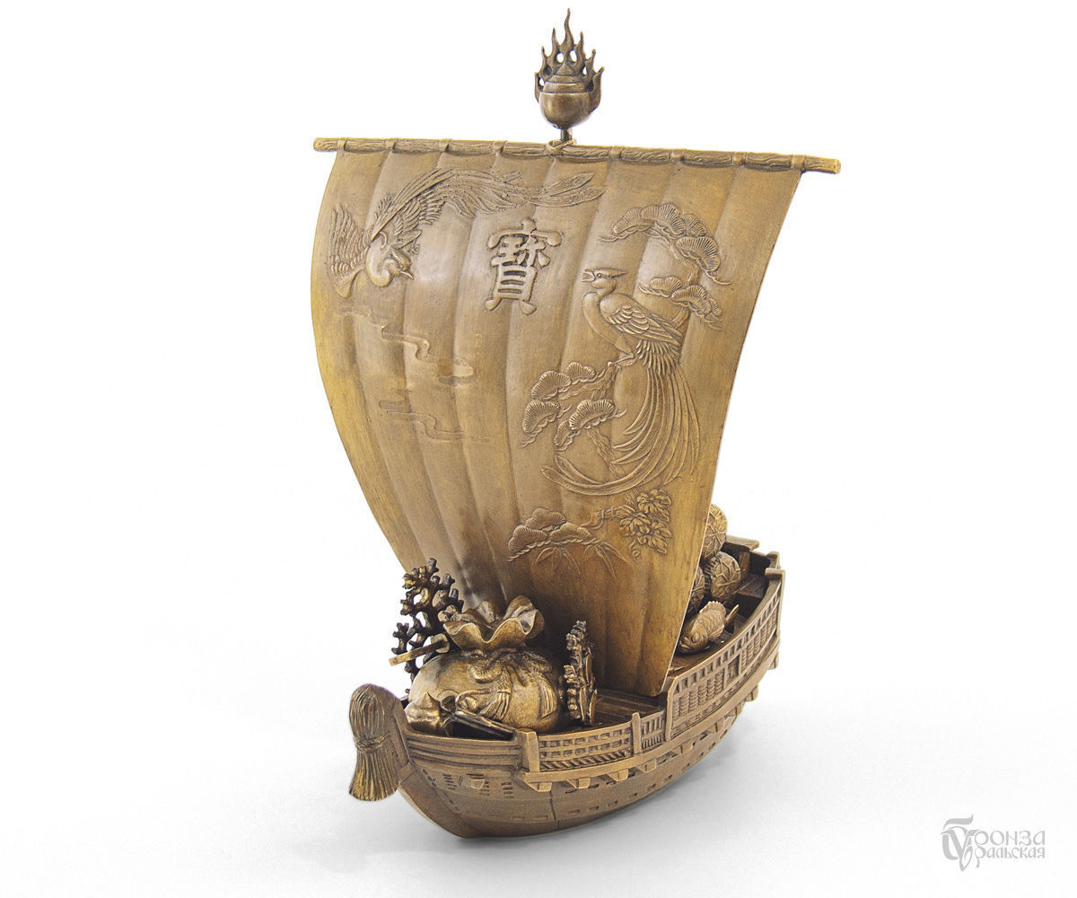 Корабль Счастья Такарабунэ, Скульптуры, Челябинск,  Фото №1