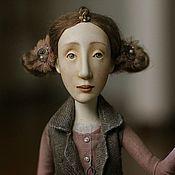 """Куклы и игрушки ручной работы. Ярмарка Мастеров - ручная работа кукла из серии """"Чудачки, любительницы живого."""". Handmade."""