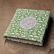 """Канцелярские товары ручной работы. Ярмарка Мастеров - ручная работа Блокнот """"Lotus"""". Handmade."""