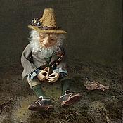 Куклы и игрушки ручной работы. Ярмарка Мастеров - ручная работа Лесной эльф мистер Гринли. Handmade.
