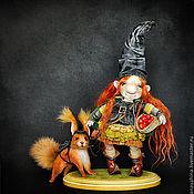 Куклы и игрушки ручной работы. Ярмарка Мастеров - ручная работа Хильда. Handmade.