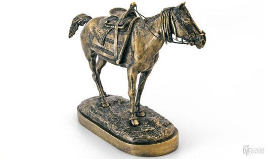 Элементы интерьера ручной работы. Ярмарка Мастеров - ручная работа. Купить Бухарская лошадь. Handmade. Скульптура, лошадь, бронза авторская