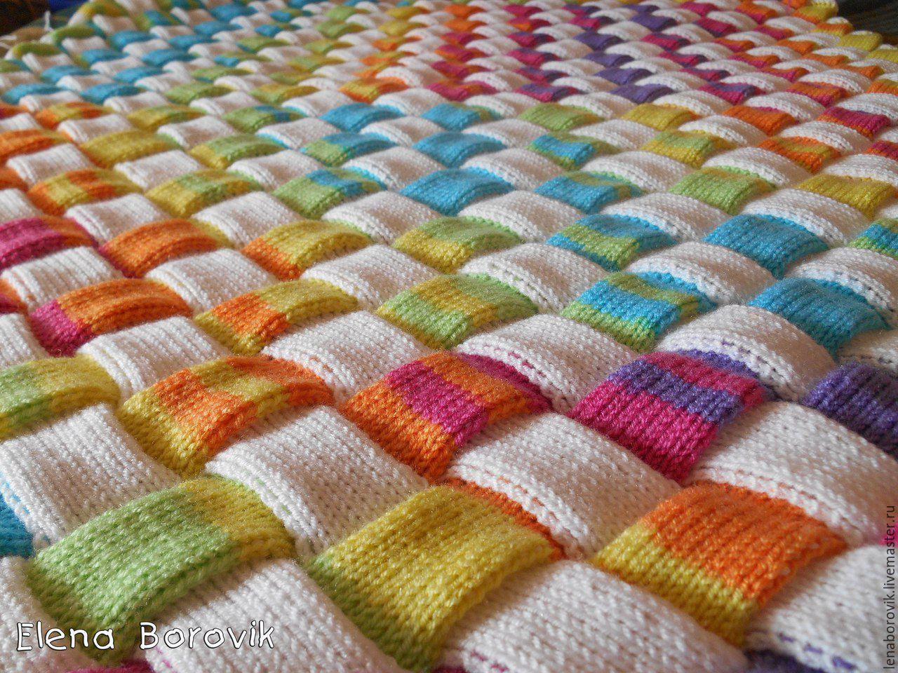 Пряжи для вязания пледов крючком 548