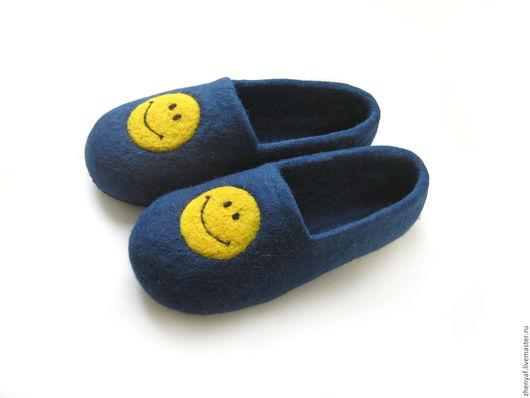 Обувь ручной работы. Ярмарка Мастеров - ручная работа. Купить Тапочки валяные. Handmade. Тапки, тапки из войлока, валяные тапки