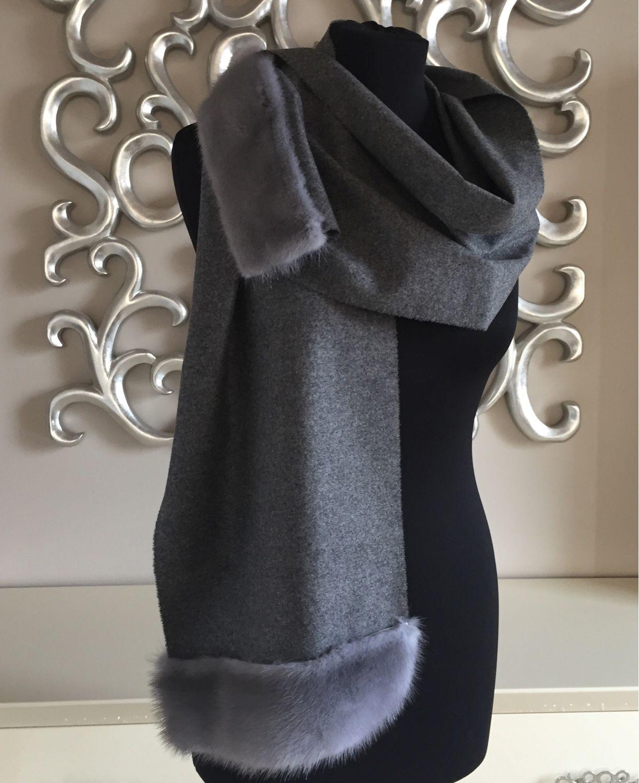 Палантин шарфы ручная работа