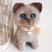 Куклы и игрушки handmade. Livemaster - original item Cat beige baby. Handmade.