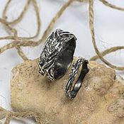 handmade. Livemaster - original item Pair of silver rings