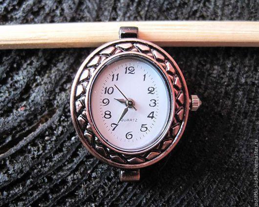"""Для украшений ручной работы. Ярмарка Мастеров - ручная работа. Купить Часы """"Овал"""" медные, основа для часов. Handmade. Часы"""