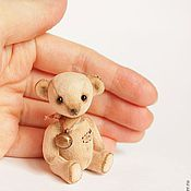 Куклы и игрушки ручной работы. Ярмарка Мастеров - ручная работа Миша из детства 5,5 см. Handmade.