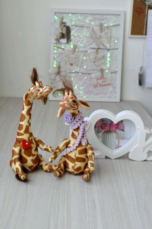 Жираф, Мягкие игрушки, Мытищи,  Фото №1